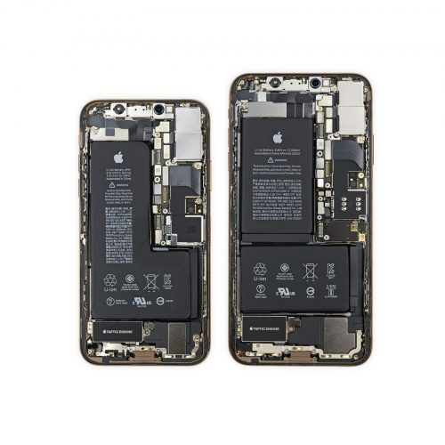 iPhone XS teardown battery